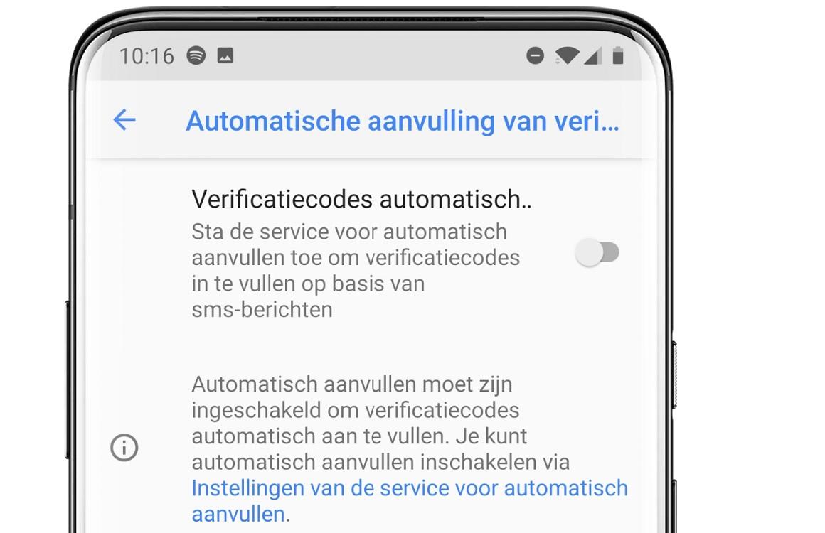 Eindelijk: Android gaat zelf sms-verificatiecodes invullen, zo activeer je het