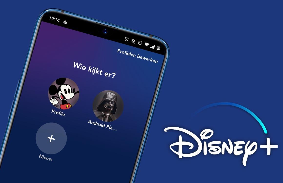 Zo maak je profielen aan in Disney Plus en krijg je betere aanbevelingen