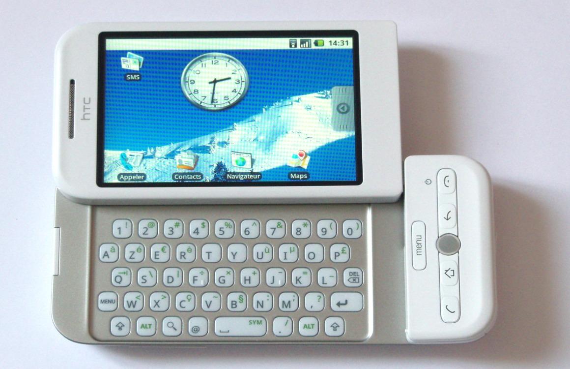Geschiedenis Android HTC Dream