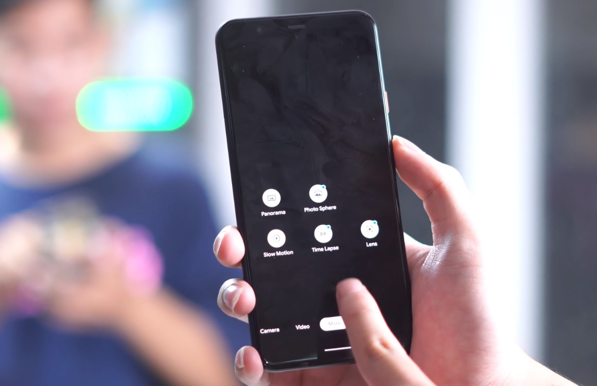 Video: Zo ziet de Camera-app van de Google Pixel 4 (XL) eruit