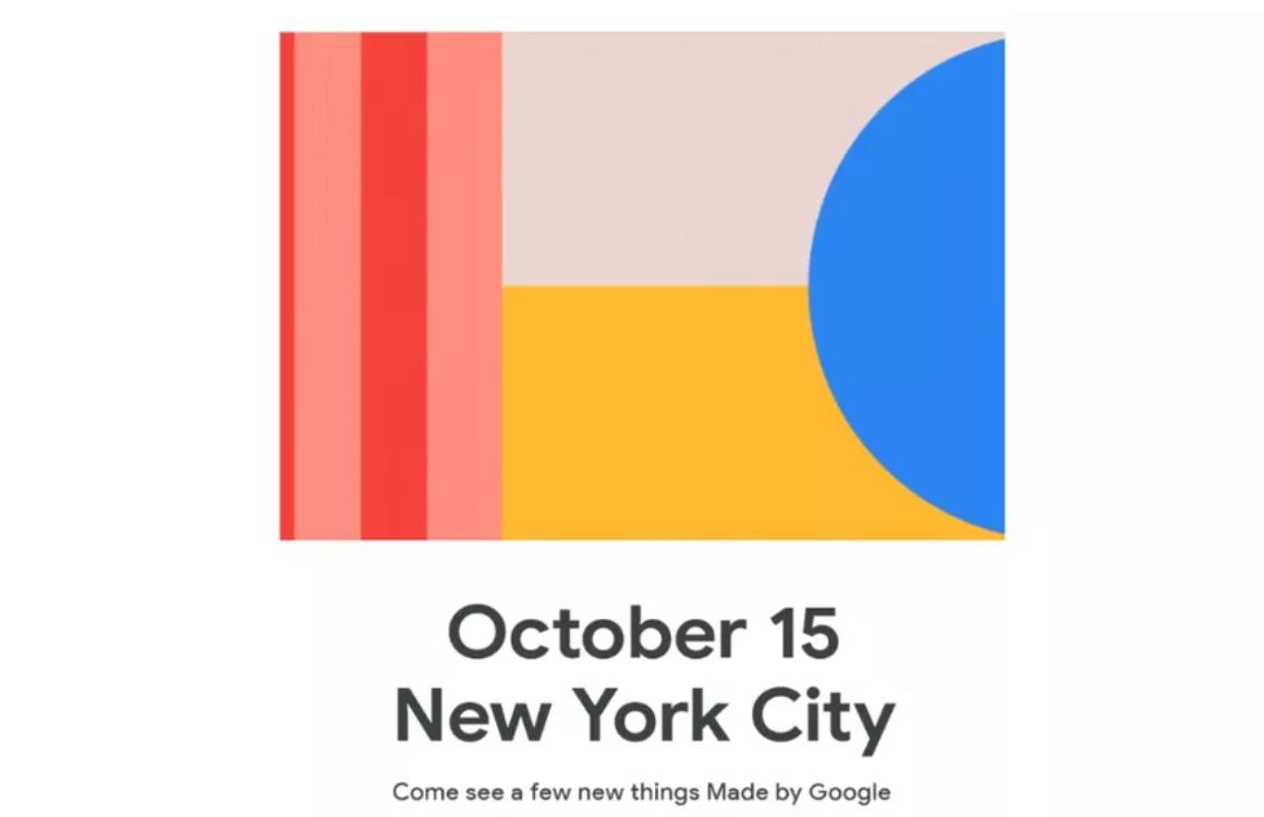 Google kondigt Pixel 4 (XL) en meer producten aan op 15 oktober