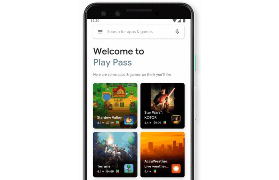 Google Play Pass officieel: abonnementsdienst voor apps en games