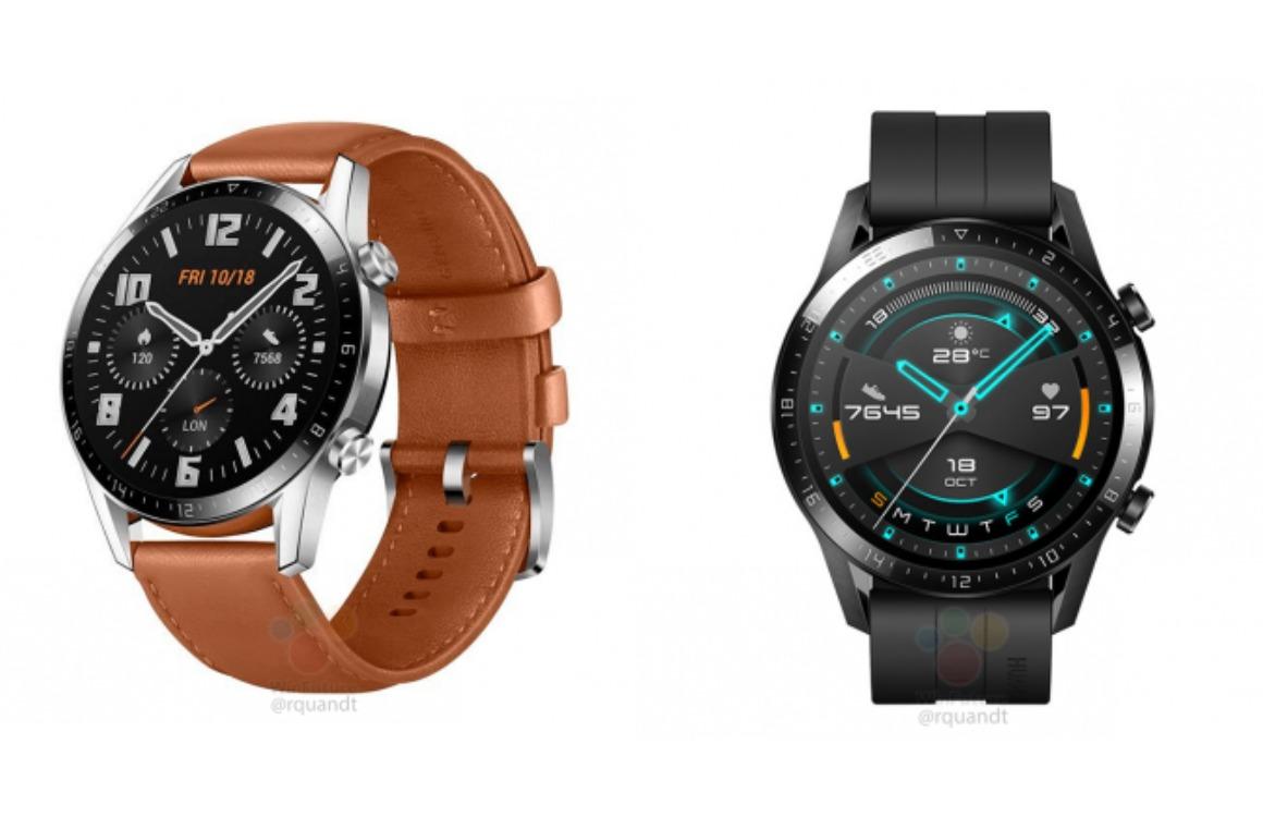 Huawei Watch GT 2 renders 2