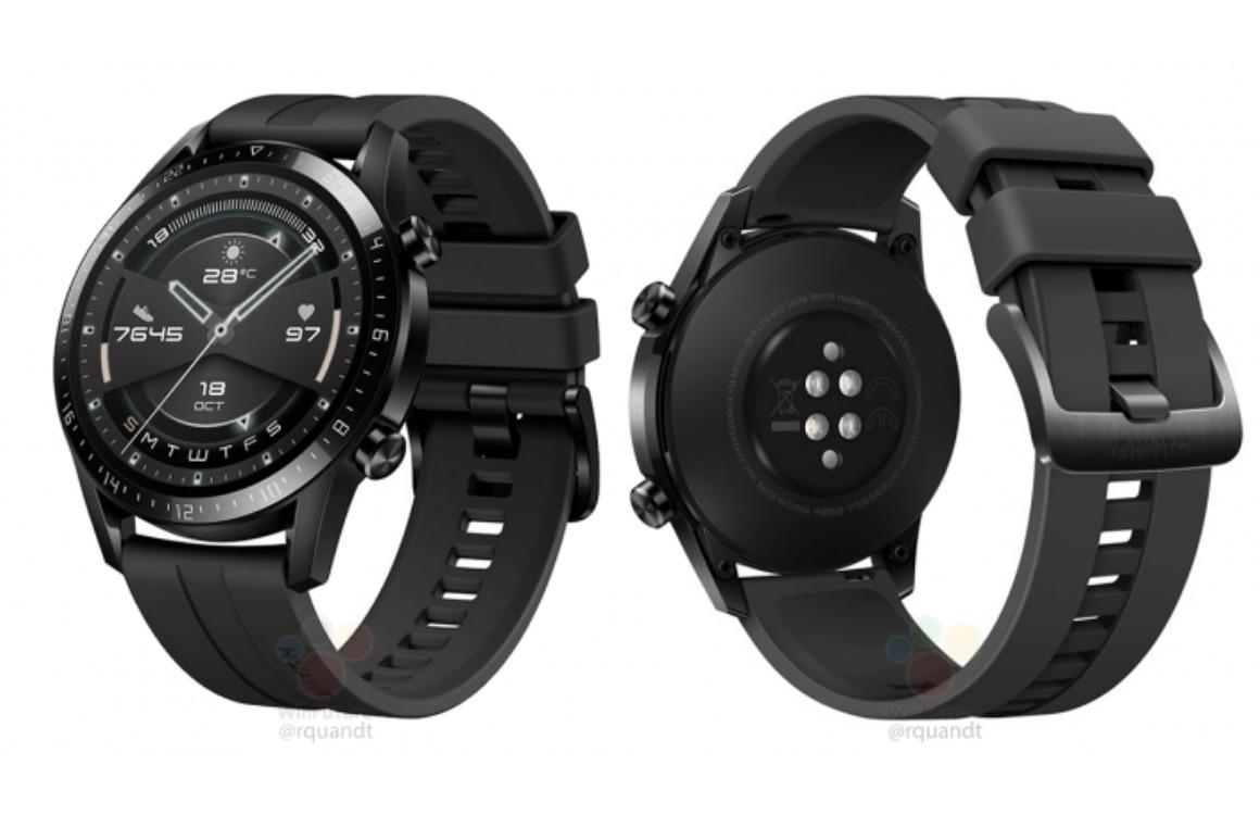 'Dit is de Huawei Watch GT2 met nieuw design, maar nog steeds geen Wear OS'