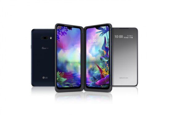 LG presenteert G8X ThinQ en hoesje met extra scherm