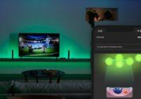 Dit nieuwe kastje laat Philips Hue-lampen meekleuren met je tv-scherm