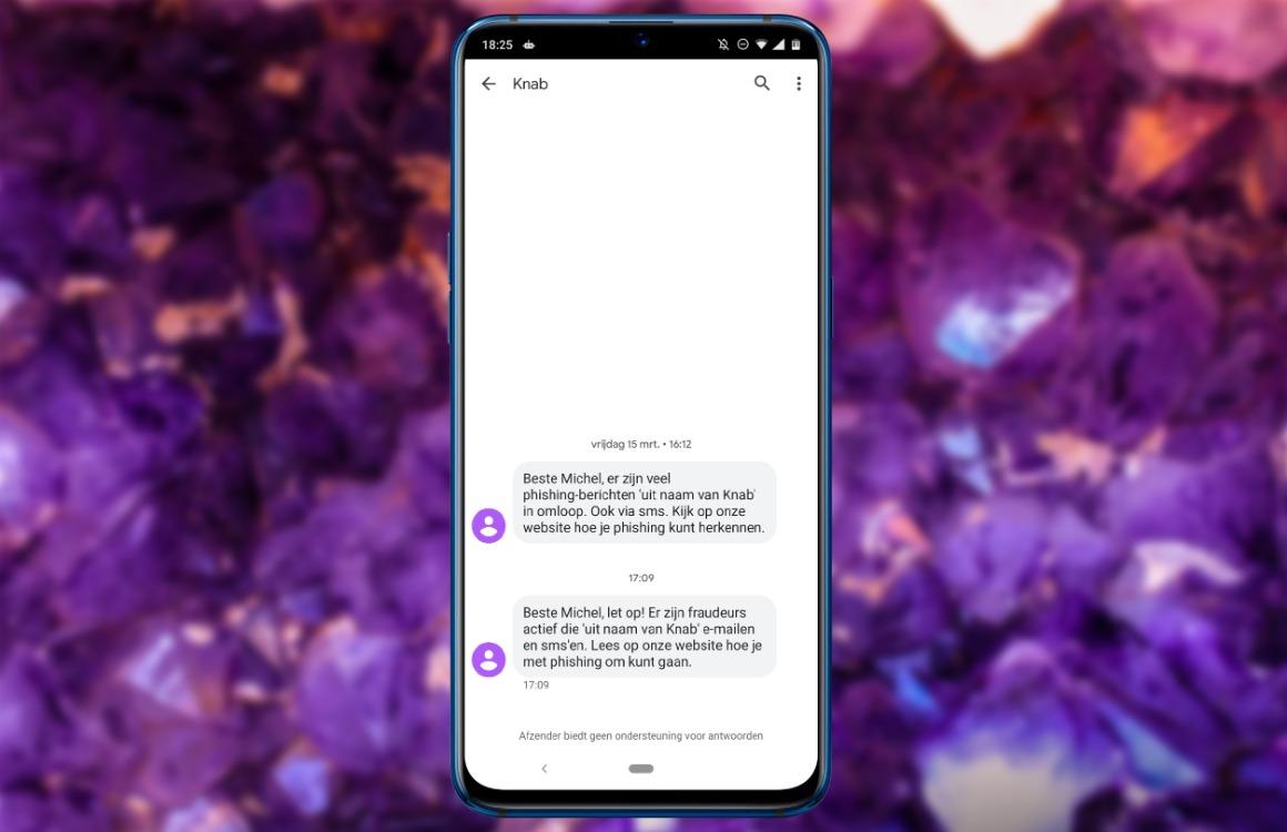 Phishing android herkennen
