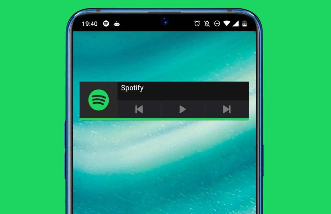 Zo voeg je de Spotify-widget weer toe aan je homescreen