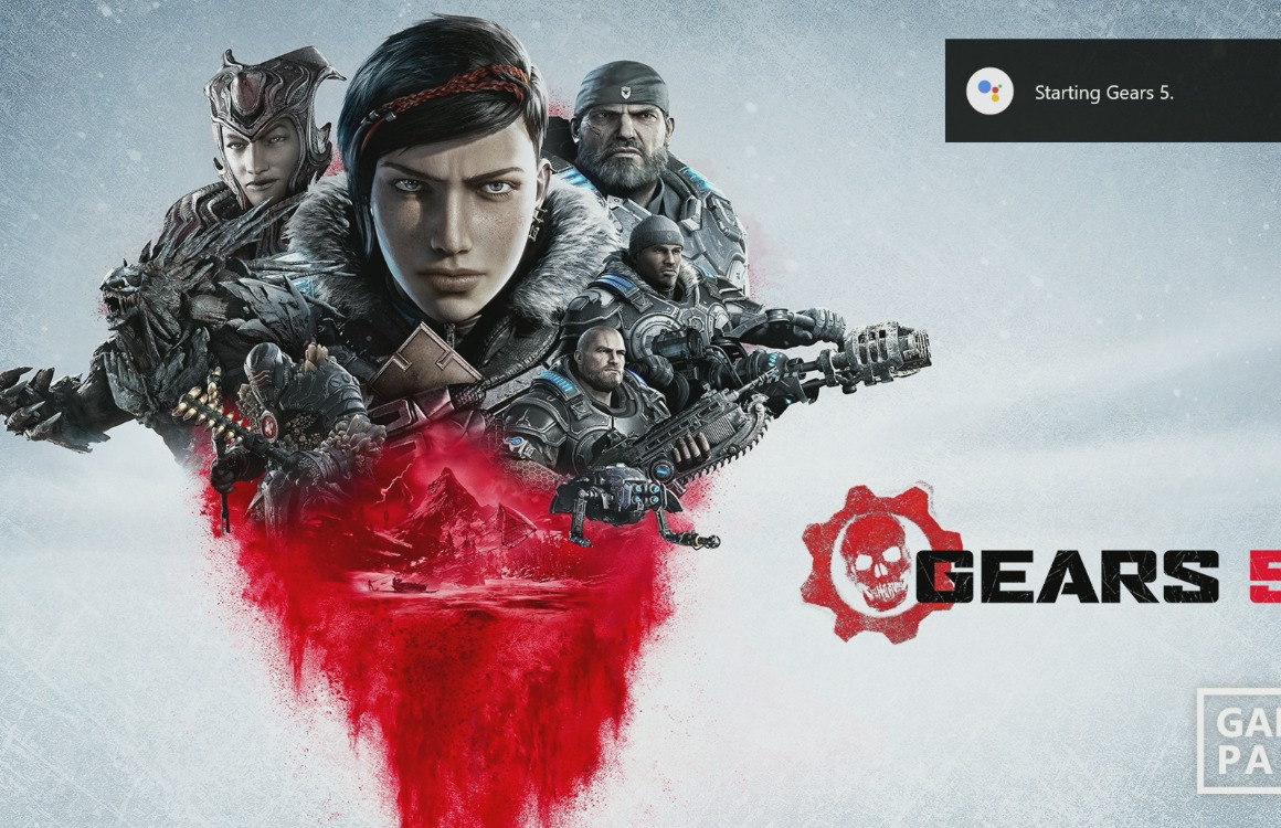 Xbox One Google Assistent Gears 5