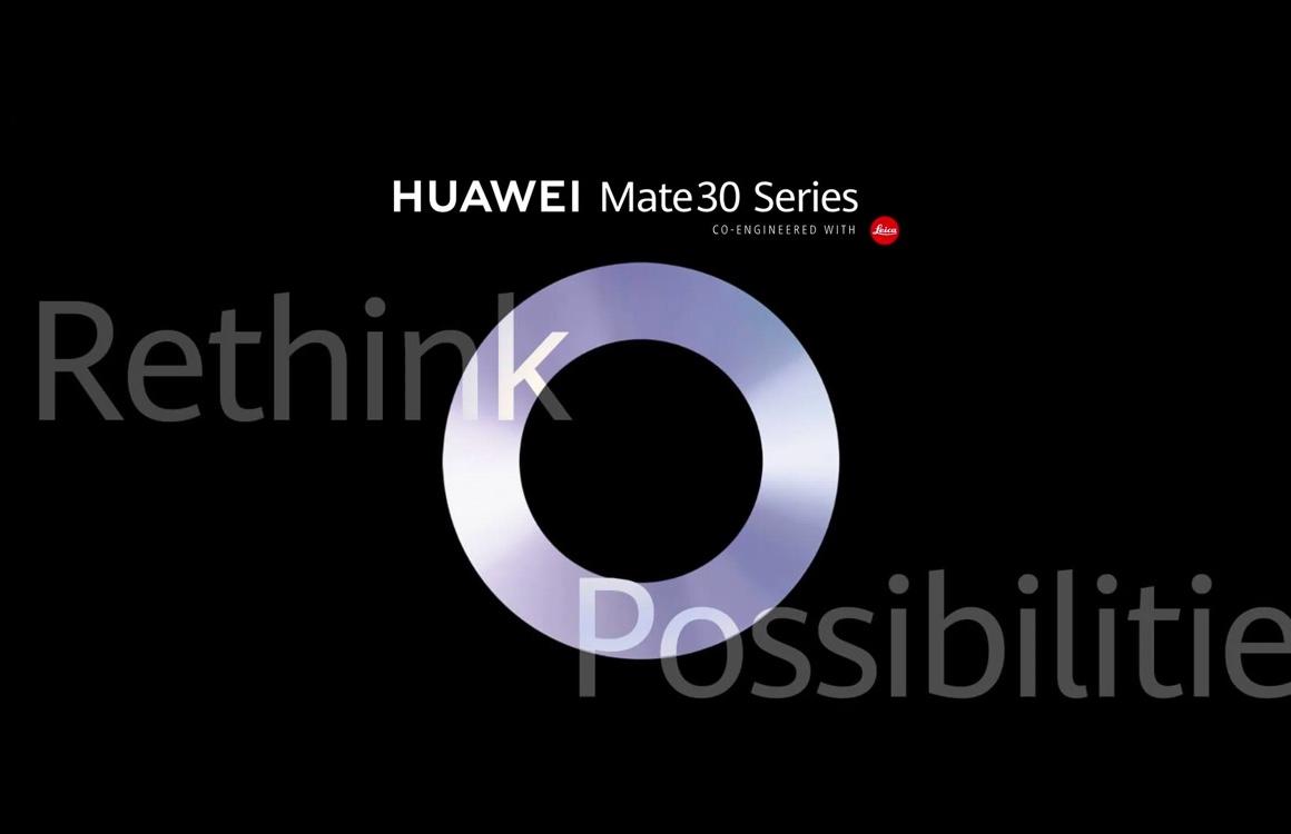 Officieel: Huawei Mate 30 (Pro) wordt op 19 september onthuld