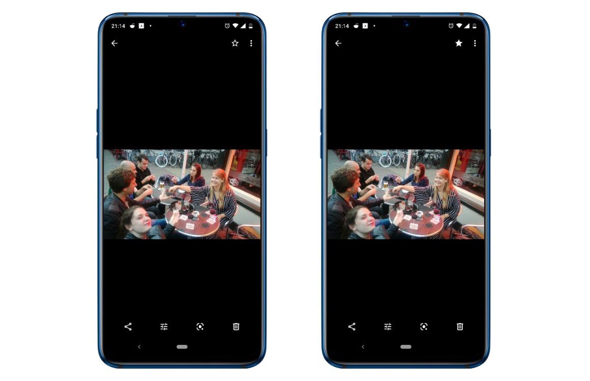 Google Foto's tips screens 2