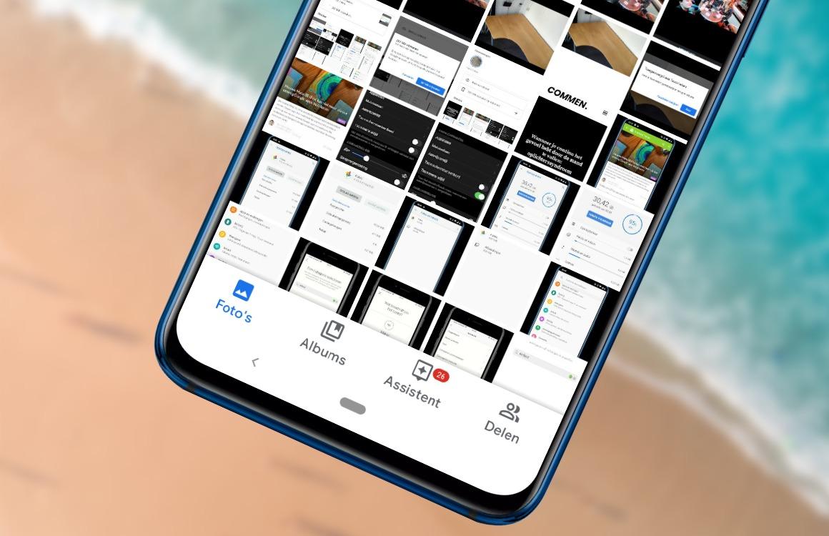 Zo ziet de vernieuwde Google Foto's-app eruit