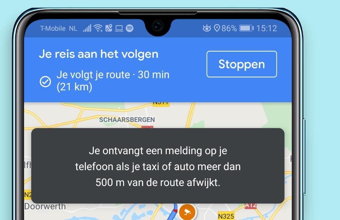Tip: zo gebruik je de nieuwe 'Veilig blijven'-opties van Google Maps