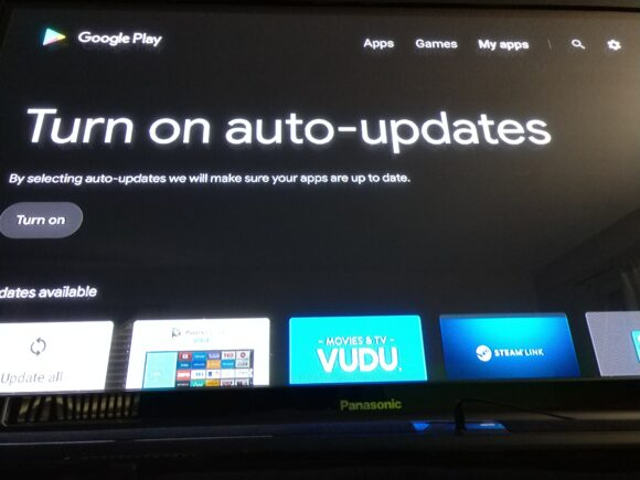 Google Play Store Android TV vernieuwd 2