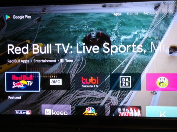 Google Play Store Android TV vernieuwd