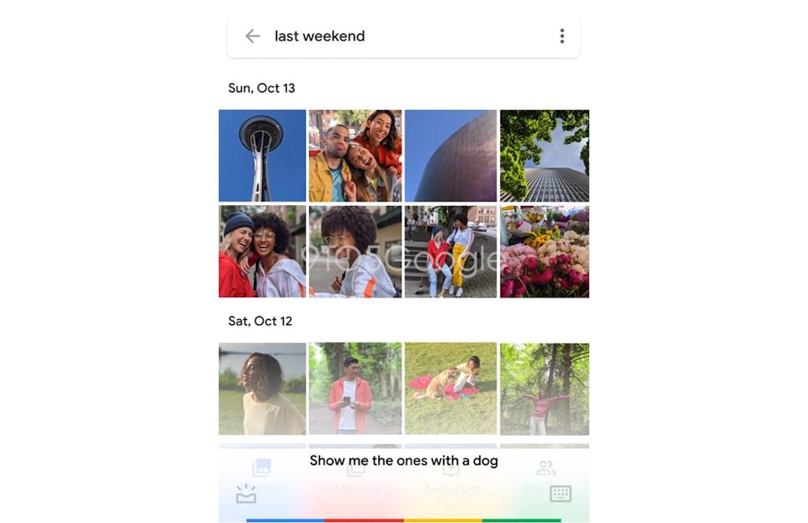 Pixel 4 Google Assistent Foto's