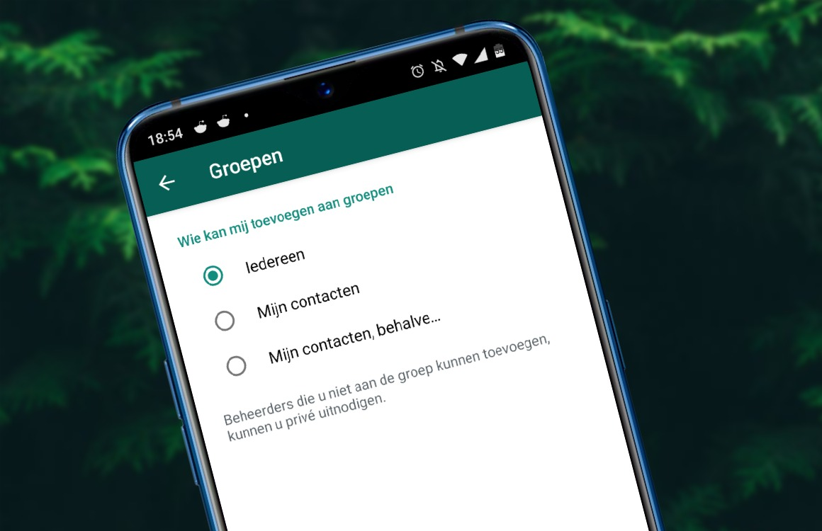 Tip: Zo bepaal je wie je (niet) kan toevoegen aan groepschats in WhatsApp
