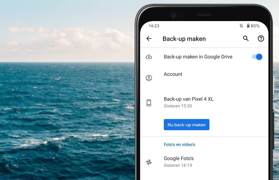 Tip: Maak een handmatige back-up van je smartphone op Google Drive