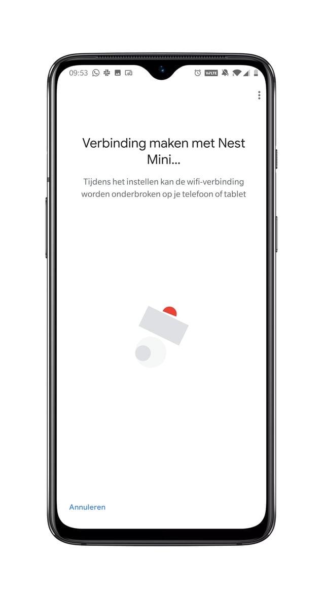 Google Nest Mini - installatie