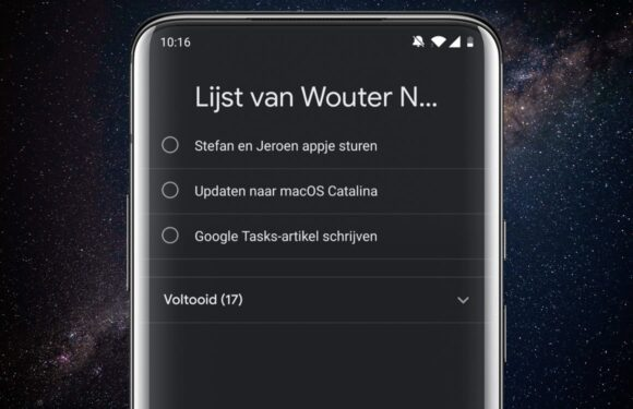 Download: Google Tasks krijgt donkere modus en handige widgets