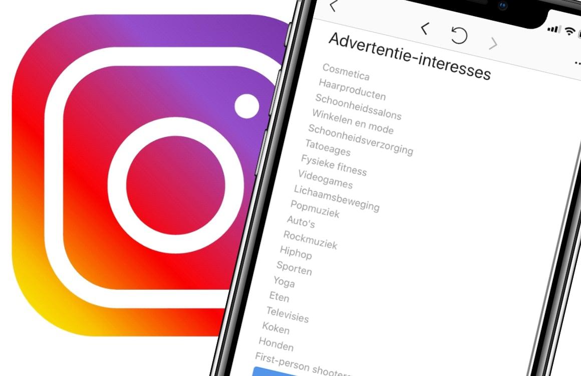 Column: Wie ben ik volgens advertenties op Instagram?