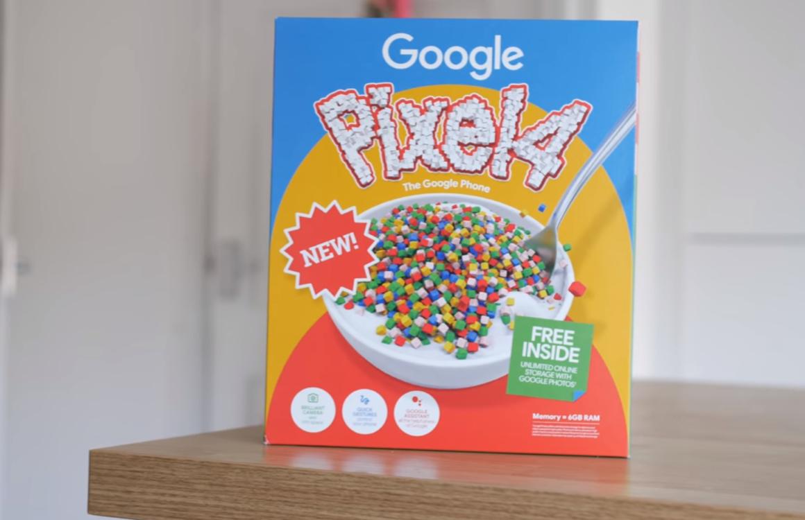 Cornflakes en AR: 3 manieren waarop Google de Pixel 4 promoot