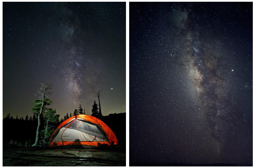 astrofotografie naar oude pixels