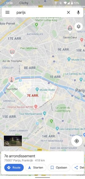 google maps bezienswaardigheden