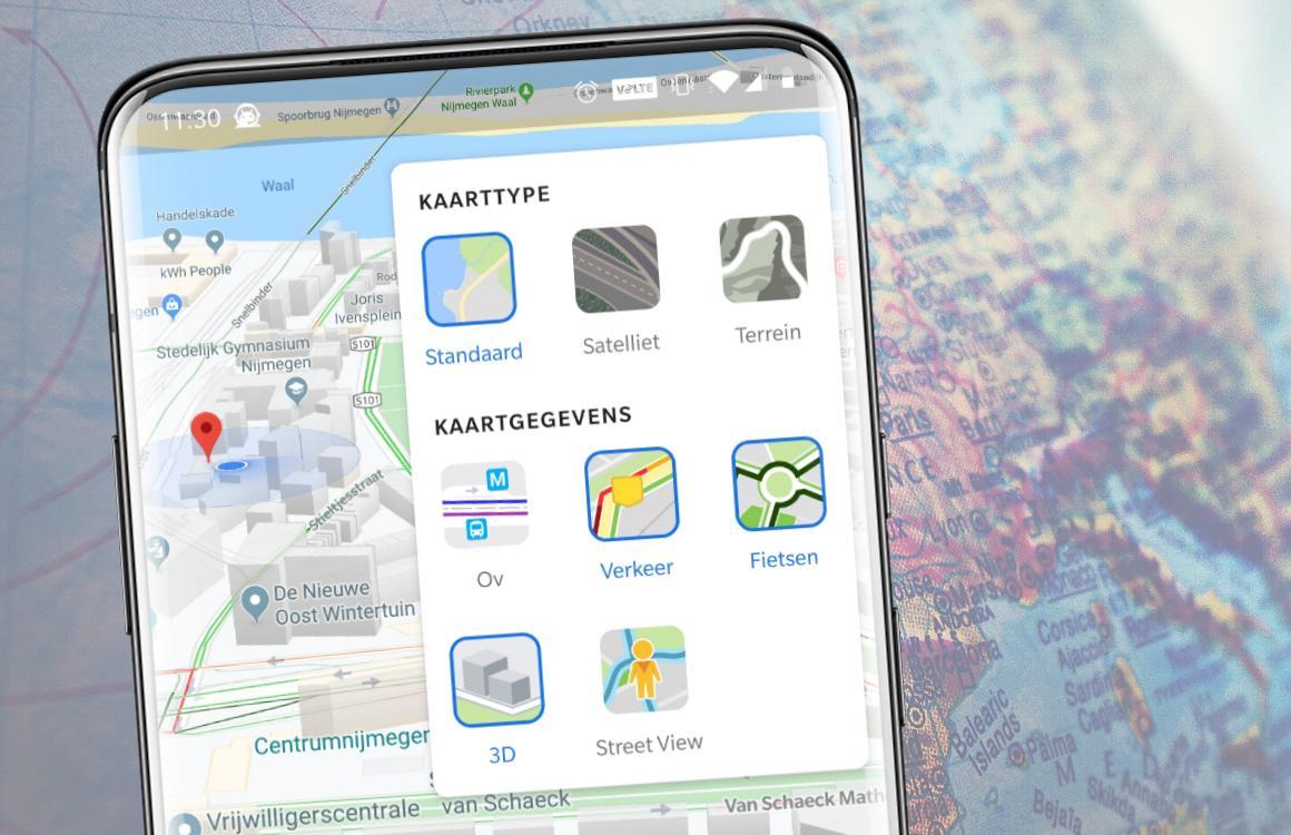 Tip: zo gebruik je 'lagen' in Google Maps