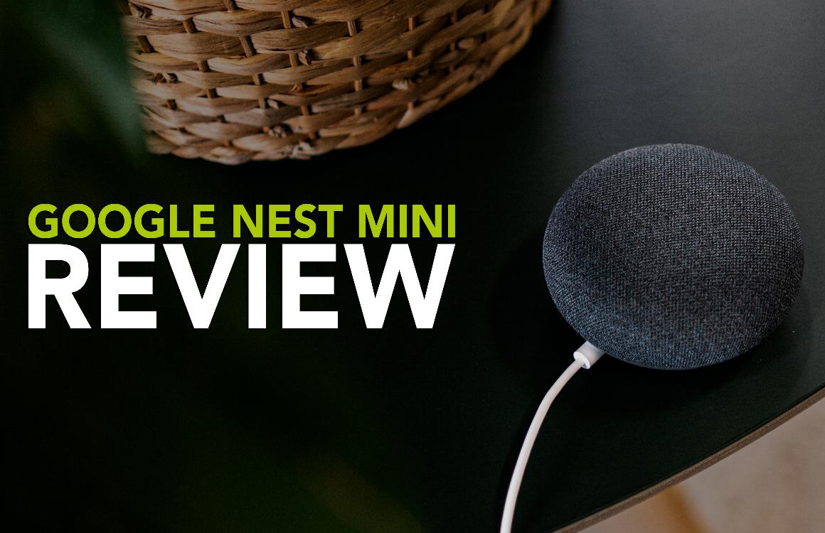 Google Nest Mini videoreview: betaalbare en verbeterde slimme speaker