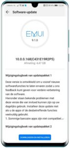 Huawei P30 Pro - Android 10-update