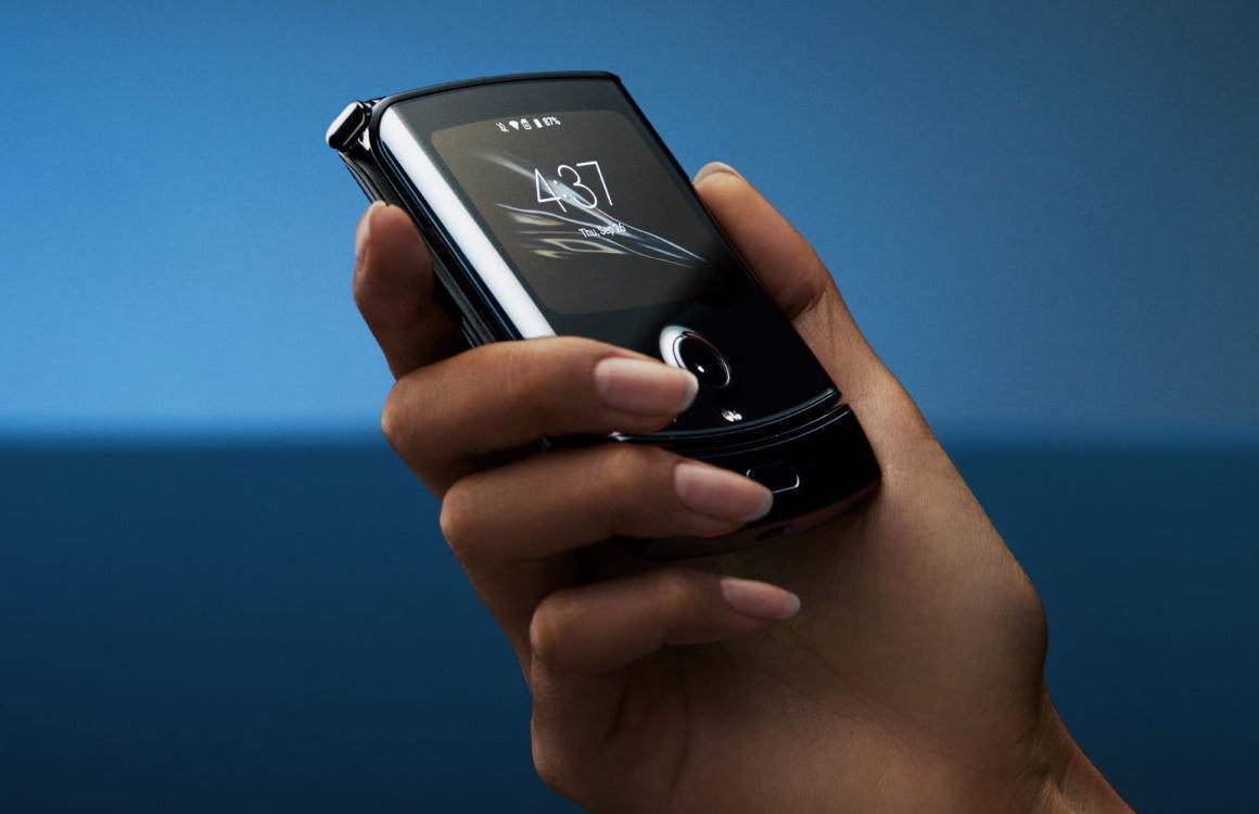 Opvouwbare Motorola Razr binnen een paar maanden in Nederland te koop