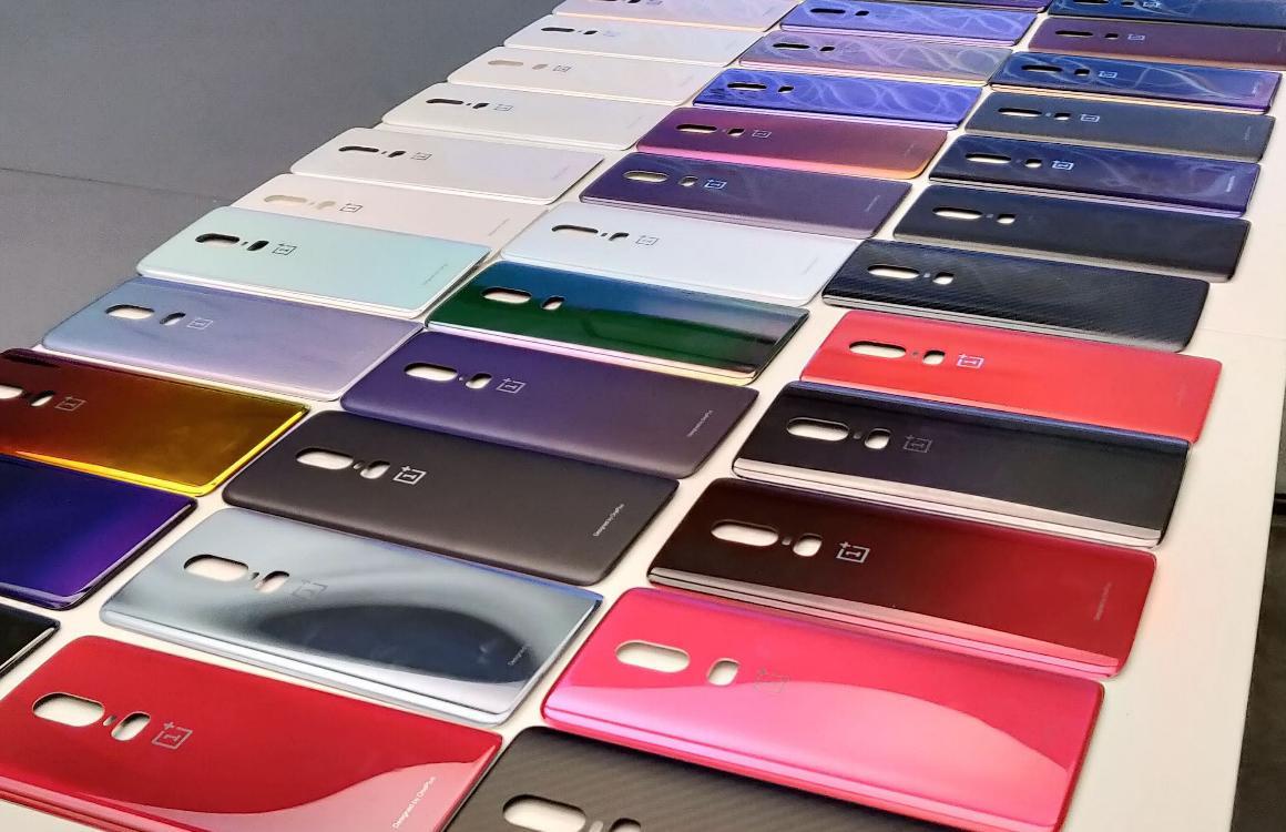 OnePlus 6 - kleurvarianten