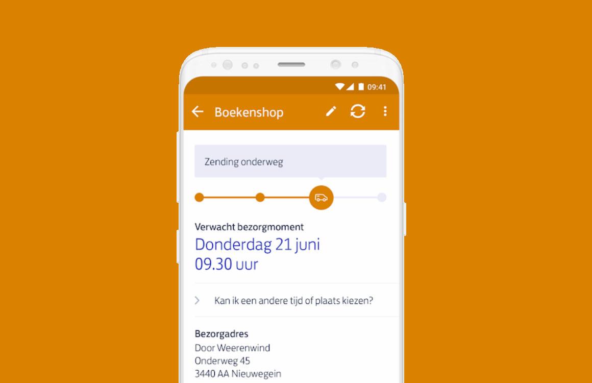 PostNL-app laat je 'live' de bezorger van je pakket volgen