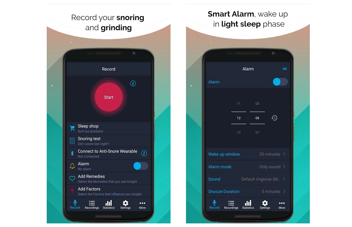 slaap-app android do i snore or do i grind