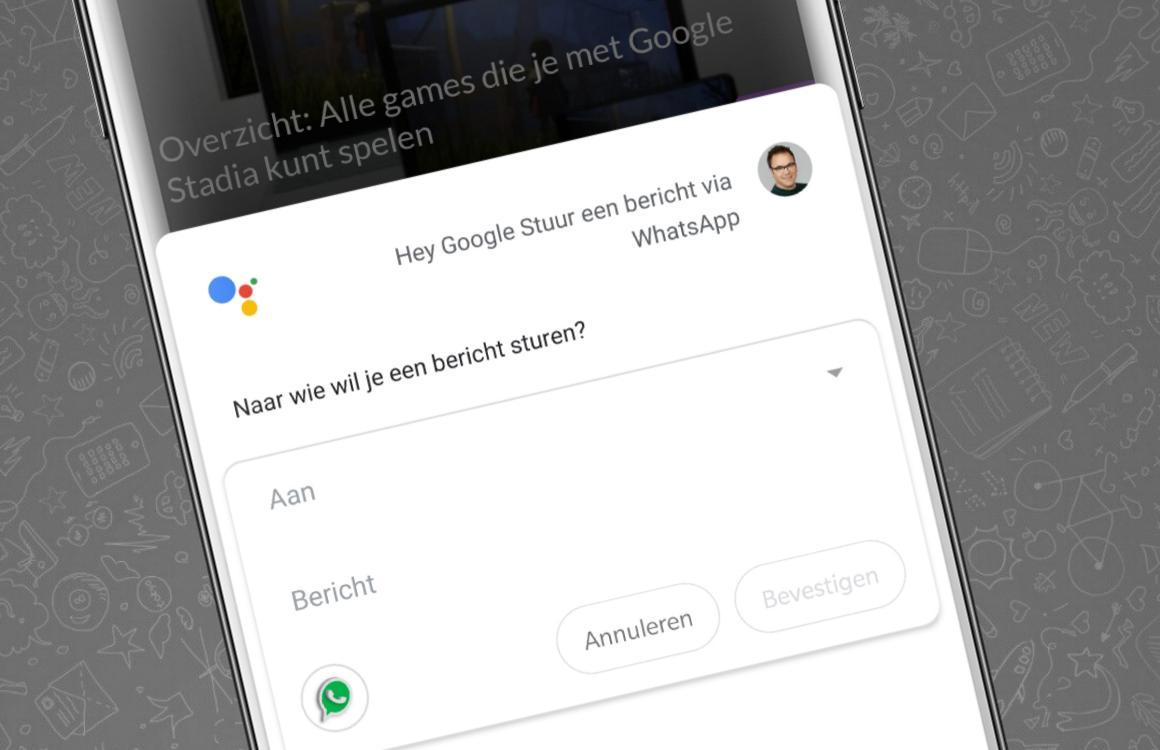 Tip: zo start je een gesprek op WhatsApp via Google Assistent