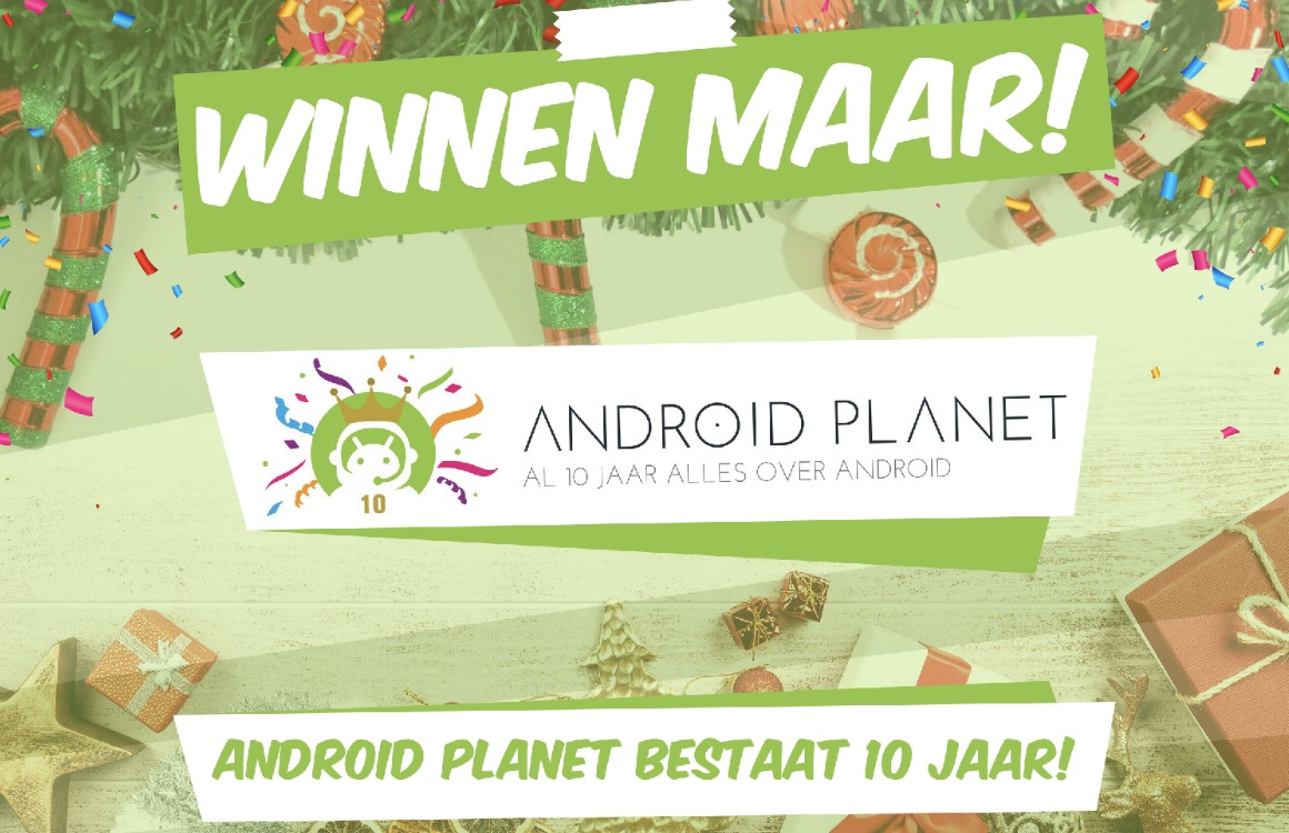Winactie Android Planet 10 jaar – 20 december: win de Gigaset GS290