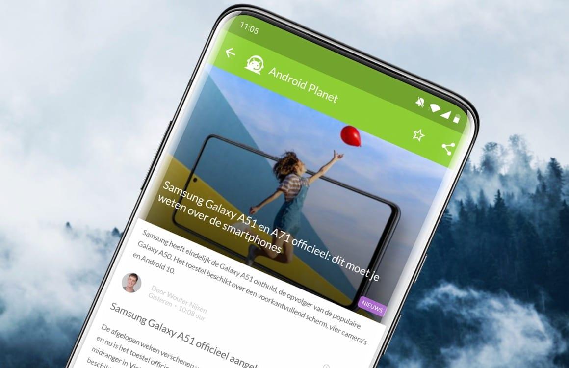 Android nieuws #50: Samsung Galaxy A51 officieel en presentatie Galaxy S11