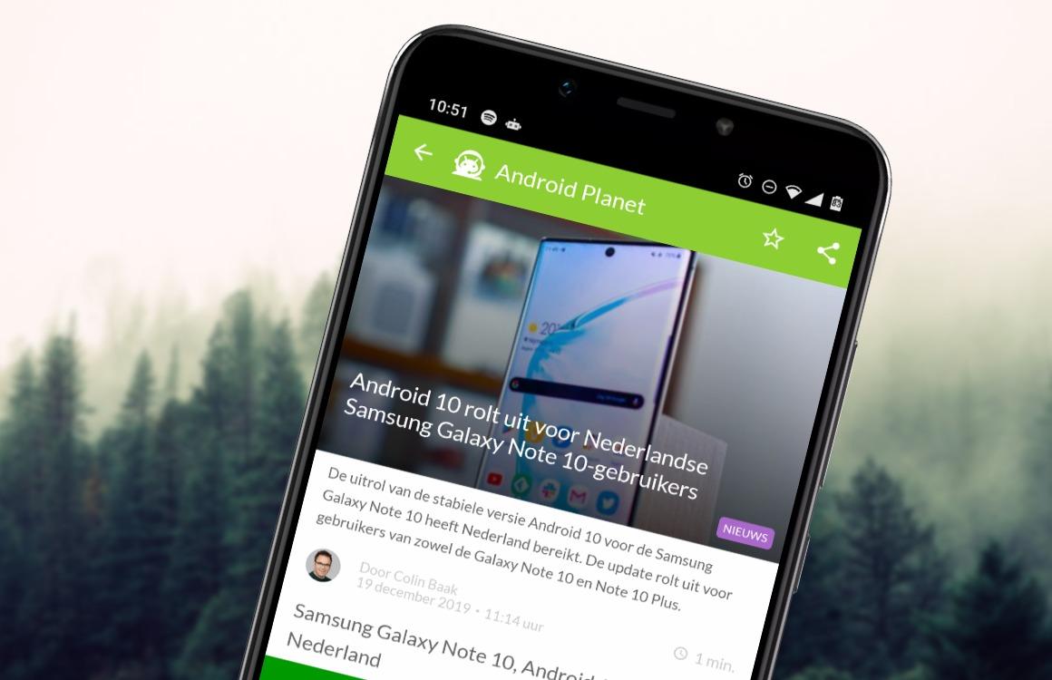 Android nieuws #51: Android 10 voor Galaxy Note 10, smart home-standaard en meer