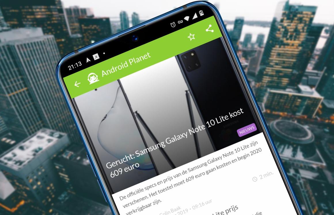 Android nieuws #52: Samsung Galaxy Note 10 Lite, Xiaomi mag door en Galaxy S11-presentatie