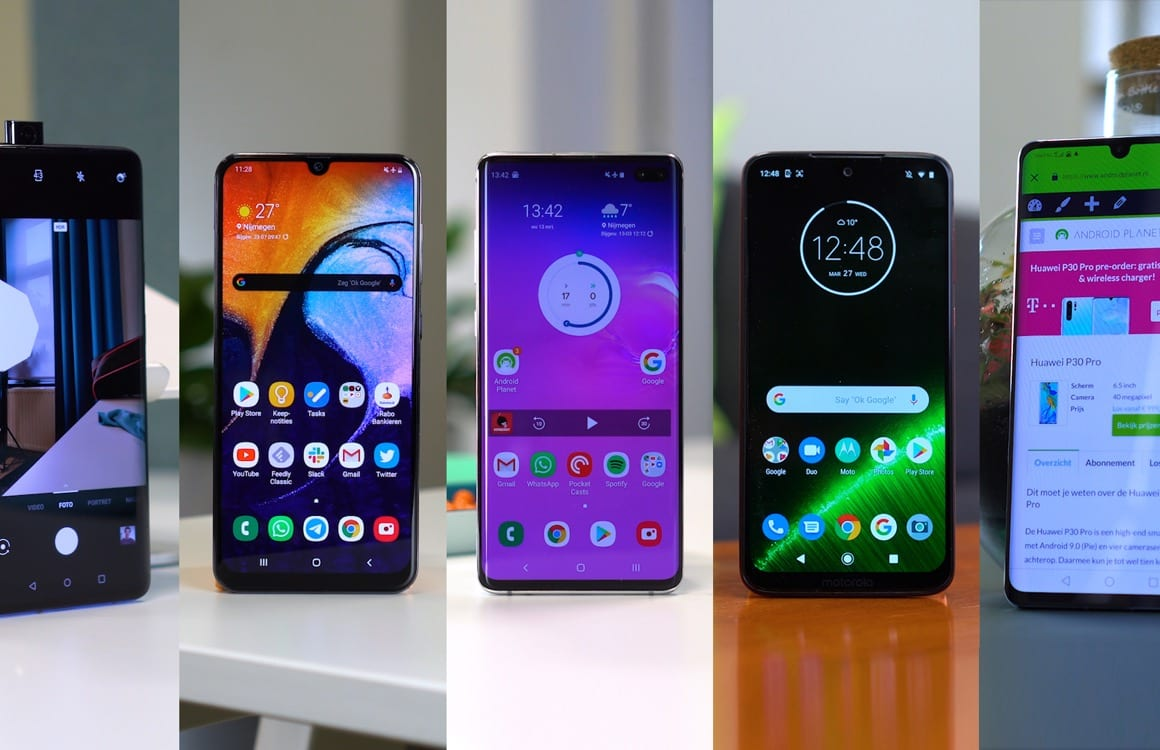 Android Planet kiest: de allerbeste Android-smartphones van 2019 (+video!)