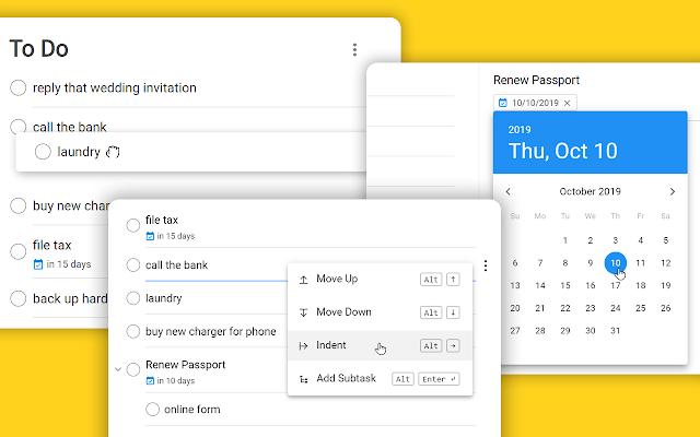 desktopversie google tasks screen