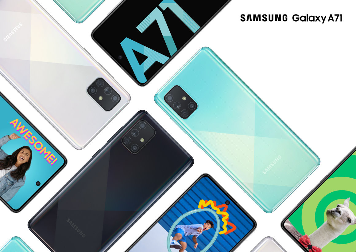 Samsung Galaxy A71 met viervoudige camera en krachtige specificaties nu te koop in Nederland