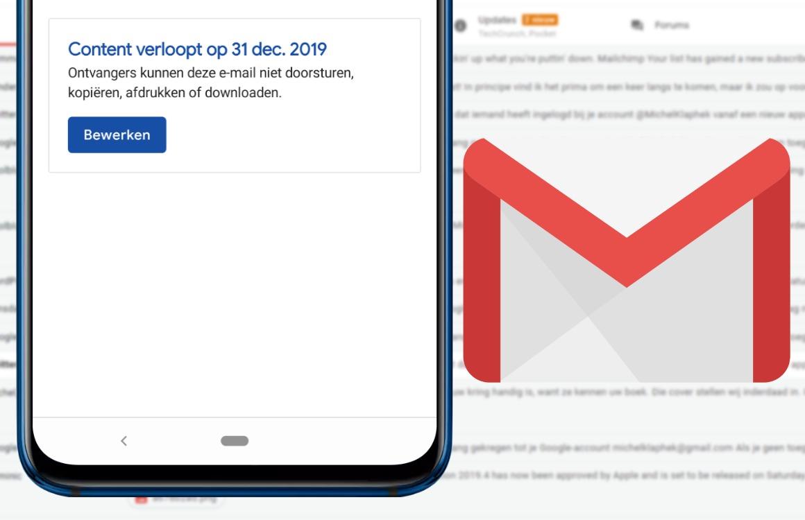 Automatisch verwijderende e-mails versturen in Gmail doe je zo (+ video!)