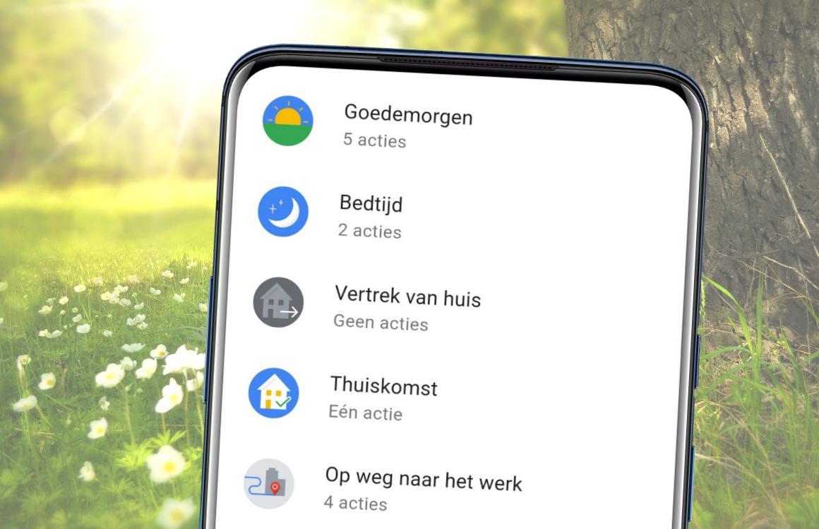 Tip: Zo gebruik je routines met de Google Assistent – update
