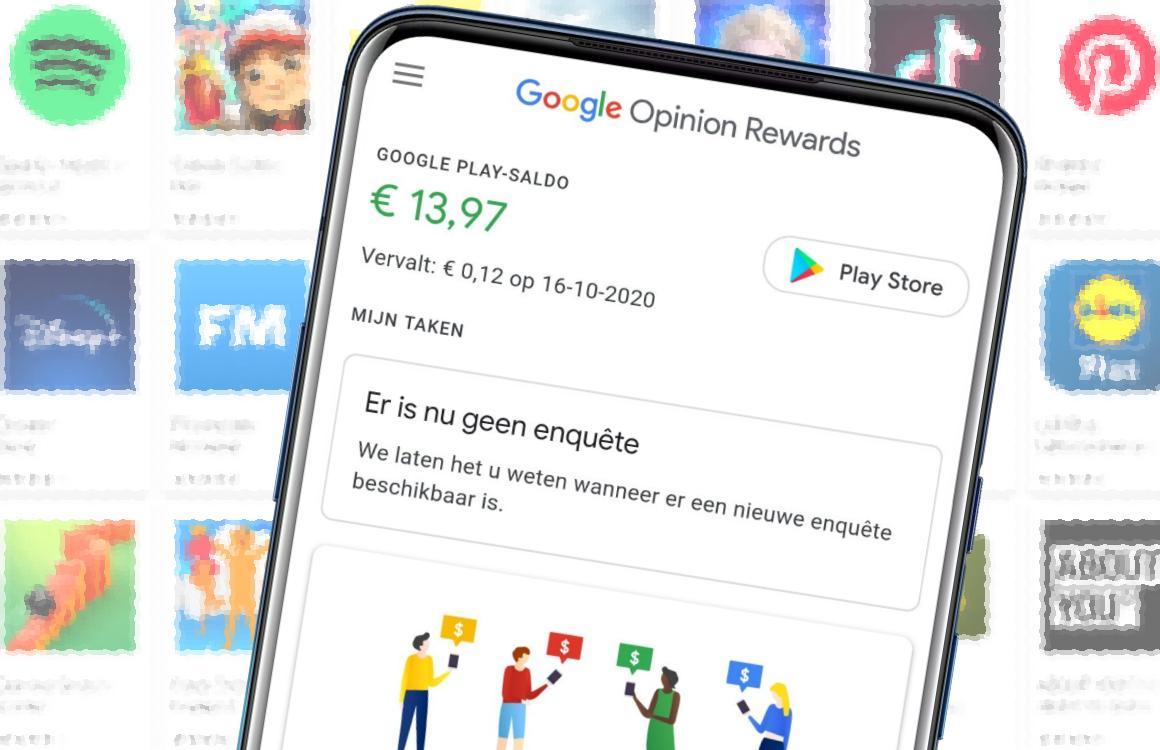 Tip: zo verdien je Google Play Store-tegoed met je eigen mening (+ video!)
