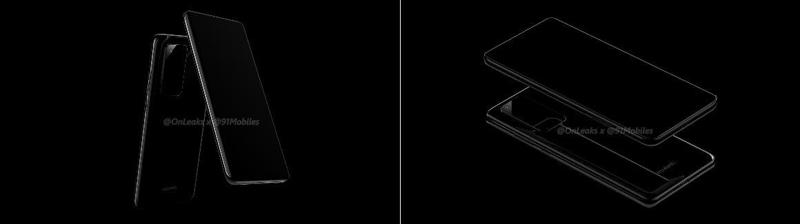 Huawei P40-renders