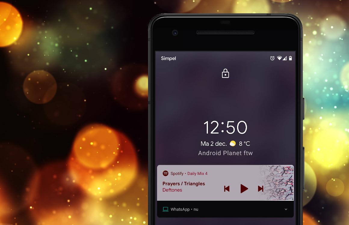 Tip: zo pas je het vergrendelscherm van je smartphone aan