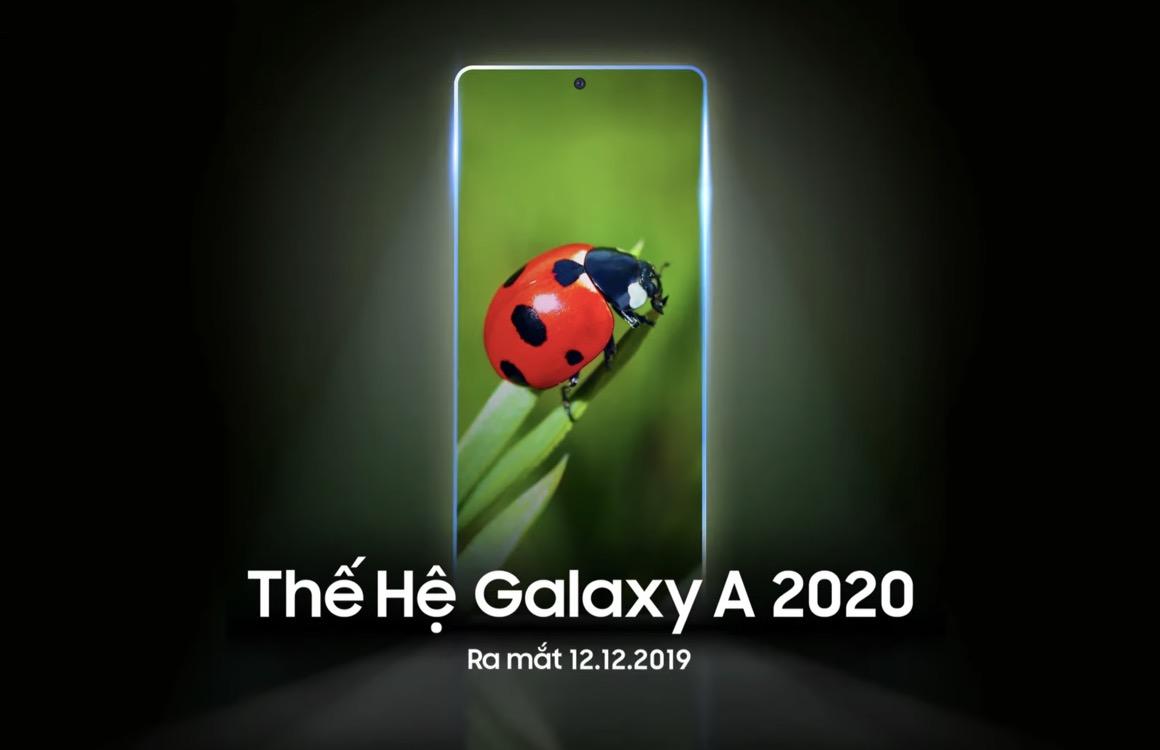 Samsung presenteert Galaxy A 2020-reeks mogelijk op 12 december