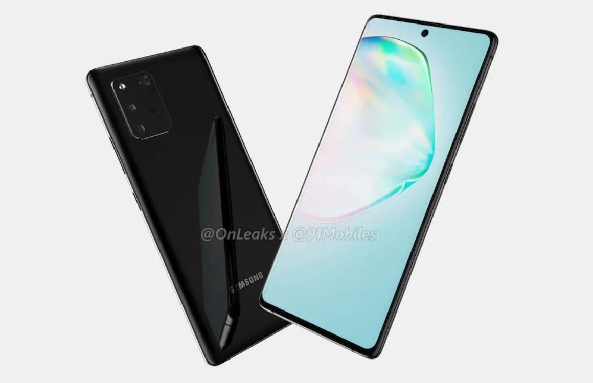 'Betaalbare Samsung Galaxy A91 krijgt hetzelfde design als Galaxy Note 10'